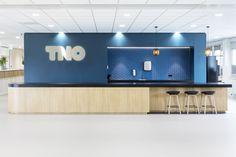 TNO Helmond – Automotive Campus by Hollandse Nieuwe - Office pantry Flat Screen, Tv, Pantry, Blood Plasma, Pantry Room, Butler Pantry, Television Set, Larder Storage, Flatscreen