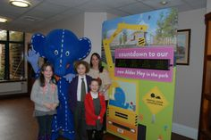 Starting the countdown to Alder Hey in the Park with Beth Tweddle and Oli the Elephant Childrens Hospital, Elephant, Park, Accessories, Children's Clinic, Parks, Elephants