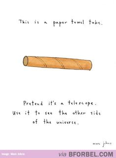 Not Just A Paper Towel Tube…