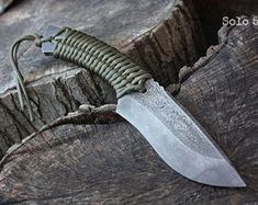 Handmade FOF Solo 5 working, hunting and survival knife Buck Knives, Cool Knives, Knives And Swords, Survival Equipment, Survival Tools, Survival Knife, Survival Items, Edc Tools, Tactical Pocket Knife