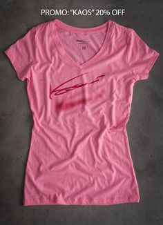 Latest Kaos Clothing for ladies.  www.kaosoutfitters.com