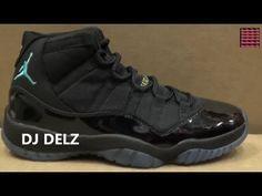 a8c95344a81 Air Jordan 11 Gamma Blue XI Sneaker Detailed Review Legit Check W   DjDelz  Dj Delz