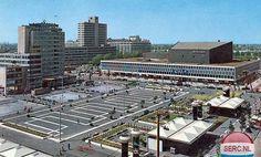 Het Schouwburgplein, Rotterdam ca. Rotterdam, Eurotrip, Old City, Holland, Dutch, Past, Europe, Places, 1975