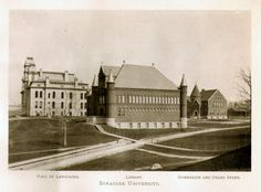 Syracuse University Campus View 1890's (Courtesy of archives.syr.edu)