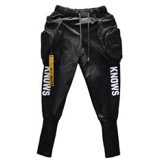 Hip Hop Joggers Cargo Harem Style Slim Men Pants with Big Pockets and Zippers - Men's style, accessories, mens fashion trends 2020 Harem Pants Men, Mens Jogger Pants, Mens Sweatpants, Hip Hop Fashion, Mens Fashion, Slim Fit Joggers, Urban Outfits, Streetwear Brands, Slim Man