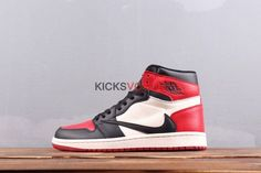 582fd081a62 Travis Scott x Air Jordan 1 High OG TS SP Bred Toe Jordan 13