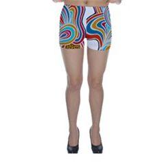Doodle Pattern Skinny Shorts by JustKidding Skinny Shorts, Doodle Patterns, Design, Fashion, Moda, Fashion Styles, Fashion Illustrations