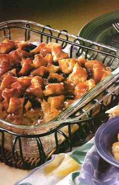 Bread Pudding with Whiskey Sauce