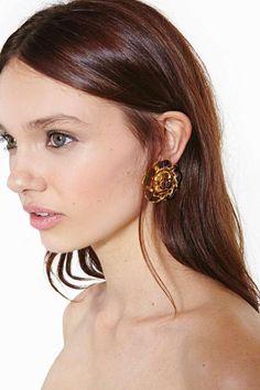 Vintage Chanel Alexie Earrings