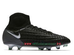 size 40 22c0a e0cc8 Football Nike Magista Obra II FG 844595 002 Artificiel Chaussure de  football salle pour Homme Blanc