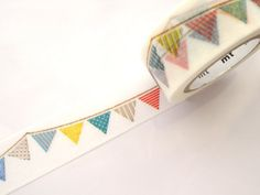 Flag washi tape Party flags Gift wrapping by WashiTapeAddictClub
