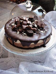 Kääpiölinnan köökissä: Kinderjuustokakkua gluteenittomana ja ilman liivatetta Pudding, Baking, Desserts, Cakes, Mascarpone, Bread Making, Tailgate Desserts, Deserts, Patisserie