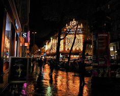 Galeries Lafayette City Lights, Times Square, France, Spaces, Explore, Random, Travel, Viajes, Destinations