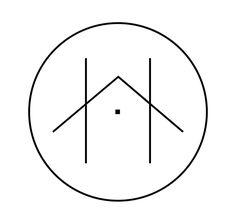 Modern Scandinavian Logo - All For Decorations Interior Logo, Interior Design Sketches, Hotel Logo, Graphic Design Typography, Branding Design, Construction Company Logo, Property Logo, Studio Logo, Photography Logos