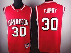... Basketball Jerseys Davidson Wildcat 30 Stephen Curry Red Nike Men 2017 NCAA  Stitched New Jersey . a40e8b7c8