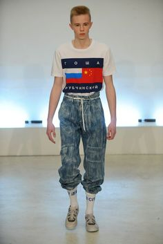 Gosha Rubchinskiy - Fall 2015 Menswear - Look 4 of 20: