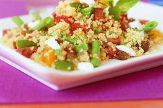Pittige couscous met chorizo en sperziebonen - Recept - Allerhande