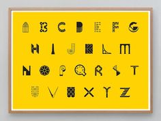 An Architectural Alphabet