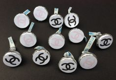 Chanel Inspired Candy Favor Labels  READY by MoesCreativeBoutique, $4.00