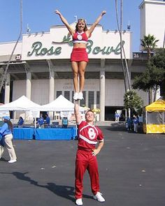 Oklahoma Cheerleaders - Rose Bowl