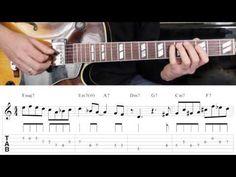 Jazz Guitar Lesson #27 - Progression #3 (Blues for Ali) - Improvisation #3