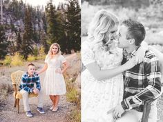 Logan Canyon Fall Engagements #kyleeannphotography -1