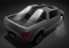 Ford Atlas Concept Design Sketch