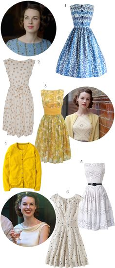 Pinup Fashion: Get the Look: Nurse Lee from Call the Midwife, via weebirdy.com #callthemidwife