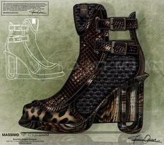 'MD' Massimo D'ascenzo Beautiful Designs. MUMIT FOOTWEAR BY Massimo D'ascenzo.  MUMIT - Sculpture Heels. Savana Fever!   Instagram@massimodascenzo  www.massimod.com  #luxury#jewellery#handbags#love#fashionAddict#luxuryDesigns.  https://www.facebook.com/pages/ Massimo-Dascenzo-Luxury-Jewellery-Handbags/485052561622939?ref=hl