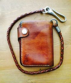 Soxisix handmade biker wallet, one of the first pieces:) Owned by Henry B.…