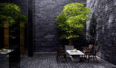 The Writer Suite Koh Samui Thailand, Wallpaper Magazine, Beveled Mirror, Reading Room, Front Desk, Interior Architecture, Patio, Outdoor Decor, Courtyards