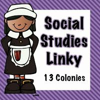 Links for ideas for teaching 13 colonies