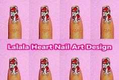 Lalala Heart Nail Art Design