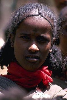 Traditional Ethiopian braids