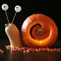 27 Creative and Scary Pumpkin-Carving Ideas for Halloween. Halloween spooky decoration ideas with pumpkins. Creative pumpkins decoration ideas for Halloween. Halloween indoor and outdoor decoration ideas. Halloween Jack, Holidays Halloween, Halloween Pumpkins, Halloween Crafts, Halloween Decorations, Halloween Pumpkin Designs, Halloween Flowers, Funny Pumpkins, Halloween Halloween