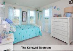 So cute. Kentwell bedroom by Lennar