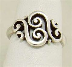 I'd like a cool James Avery ring. Not necessarily this one. Or James Avery for that matter. I just want a ring.