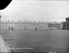 """Portobello Barracks, Dublin This reminded me of the poem """"Naming of Parts"""" by Henry Reed. Old Pictures, Old Photos, Ireland Homes, Photo Engraving, Dublin Ireland, Portobello, Black And White Pictures, Brick Wall, Past"""