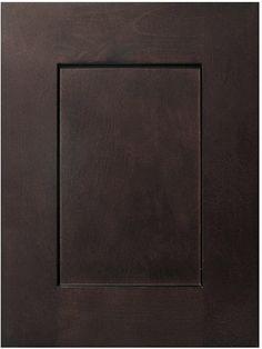 Espresso Shaker Sample Door - RTA Cabinet Store