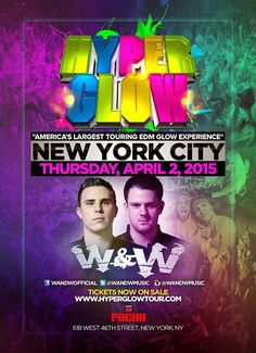 Anew Productions: Hyperglow APR. 2 @PACHA NYC
