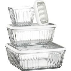 Refrigerator Storage Container 12 Cup with Silicone Lid in Food Containers, Storage   Crate and Barrel