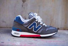 New Balance 1300ER-Grey-Blue-Red #sneakers #kicks