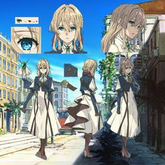 Special | 『ヴァイオレット・エヴァーガーデン』公式サイト Character Concept, Character Art, Character Design, Anime Manga, Anime Art, Violet Evergreen, Bd Art, Violet Evergarden Anime, Kyoto Animation
