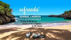 Ufreeda is ready to launch its biodegradable sandal. Cemented with our vegetable glue.