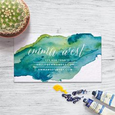 Business Card Design  _______________ INCLUDES  Business Card Size: 3.5 x 2 or preferred size File Type: JPG or PDF (High resolution JPG will be sent