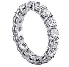 4.00 CT TW Round Diamond Eternity Wedding Band « Holiday Adds