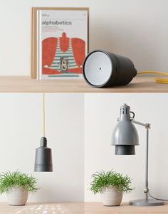 Beam Labs, Inc. is raising funds for Beam: The smart projector that fits in any light socket on Kickstarter! The smart projector that assists you in your daily activities, controlled with your smartphone or tablet. Screw it in and have fun! Desk Lamp, Table Lamp, Die Macher, Dashboard Car, Gadgets, Smart Home Security, Standard Lamps, Minimal Design, Place