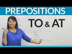 """Do you arrive """"to"""" the airport or """"at"""" the airport? Do you fly """"to"""" London or fly """"at"""" London? In this lesson, I will teach you an easy way to know which pre. Grammar And Vocabulary, English Vocabulary, English Grammar, Compromise Quotes, Reported Speech, English Prepositions, Learn English, Knowledge, Teaching"""