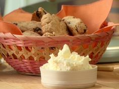Dried Cherry Almond Scones Recipe : Anne Burrell : Recipes : Food Network