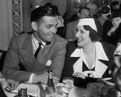 Gable and 2nd wife Ria